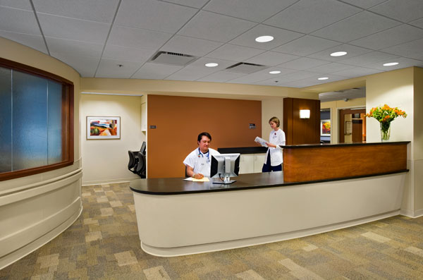 mercy nurse station photo by Debbie Franke