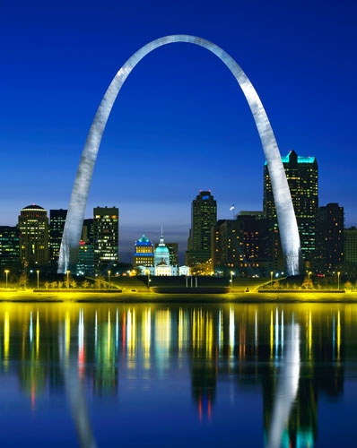 st louis arch photo by Debbie Franke